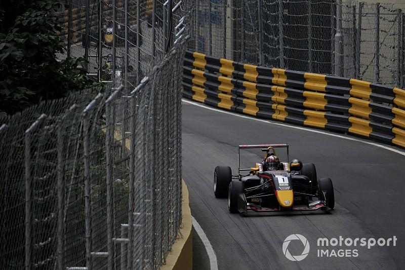 Тиктум выиграл квалификацию в Макао, которая закончилась двумя авариями