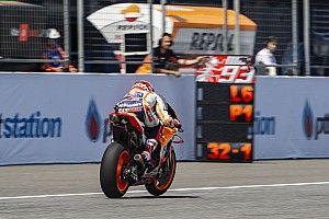 Tidak sekencang tes, Marquez gunakan set-up berbeda
