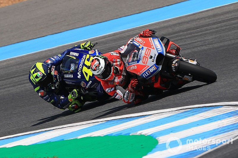 """Lorenzo looft Rossi: """"Hij was indrukwekkend constant"""""""