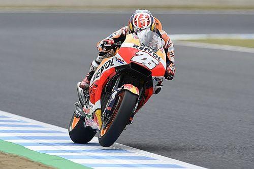 Motegi MotoGP: Pedrosa fastest in FP2 on drying track