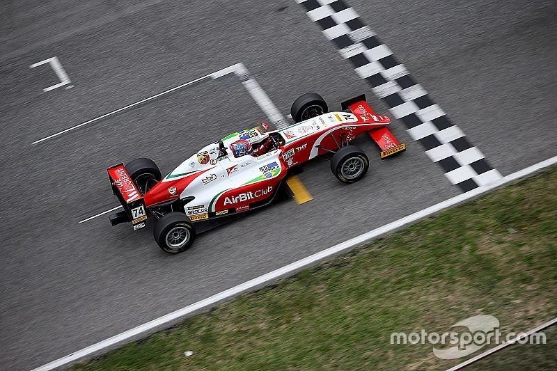 Al Mugello Enzo Fittipaldi vince il titolo italiano di Formula 4