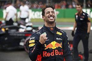 """L'exubérance du poleman Ricciardo avait """"irrité"""" Verstappen"""