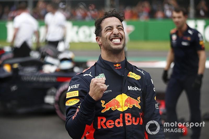 Ricciardo verslaat Verstappen op valreep voor pole-position in Mexico