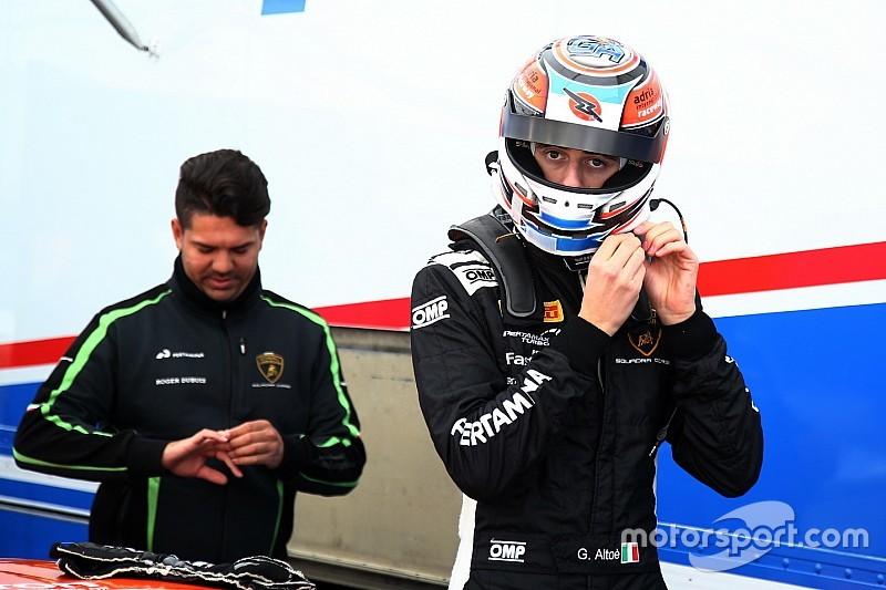 Lamborghini Squadra Corse guarda al futuro con Giacomo Altoé