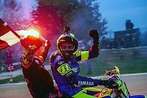 """Rossi: """"Da zero vittorie a una c'è una bella differenza, ma la gamba mi fa male"""""""