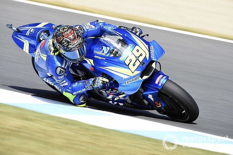 MotoGP Avustralya 2. antrenman: Iannone lider, Crutchlow büyük bir kaza yaptı