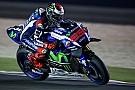 Qatar MotoGP: Lorenzo leads Rossi in opening practice