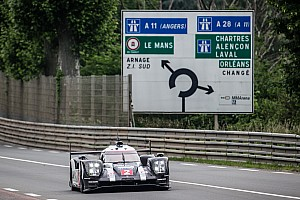 Le Mans Crónica de test Porsche marca el ritmo en la mañana del test de Le Mans