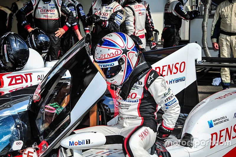 Testing crash injury forces Davidson out of Mexico City WEC