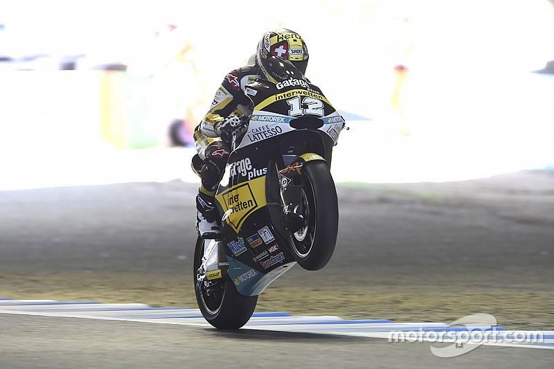 Motegi Moto2: Luthi wins, Zarco extends points lead as rivals crash