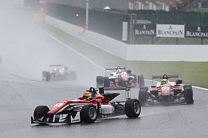 Spa F3: Stroll dominates rain-soaked Race 1