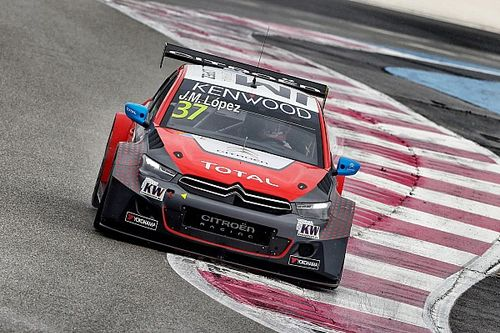 Paul Ricard WTCC: Lopez, Huff grab poles for season opener