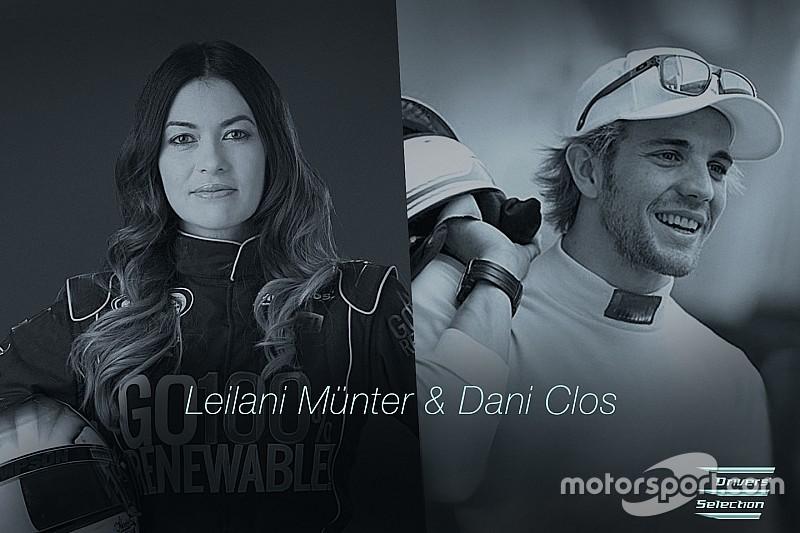 Anche Leilani Münter e Dani Clos scelti per il GT elettrico