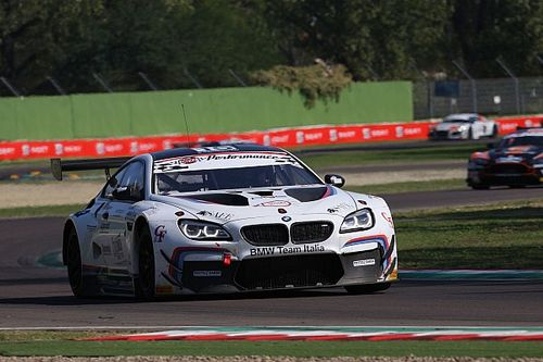 Alberto Cerqui a Imola con la BMW M6 GT3 per il round inaugurale