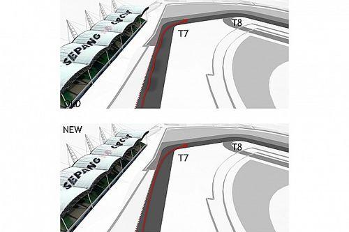 تحليل: لماذا تُعتبر تعديلات حلبة سيبانغ خطوة نحو المجهول بالنسبة لفرق الفورمولا واحد