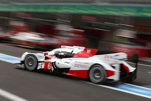 Challenging opening day for Toyota Gazoo Racing