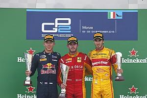 GP2 Репортаж з гонки GP2 у Монці: Нато без проблем виграв спринт