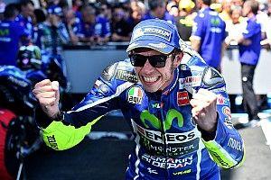 Randy Mamola: Performa jenius Rossi adalah pesan untuk Yamaha
