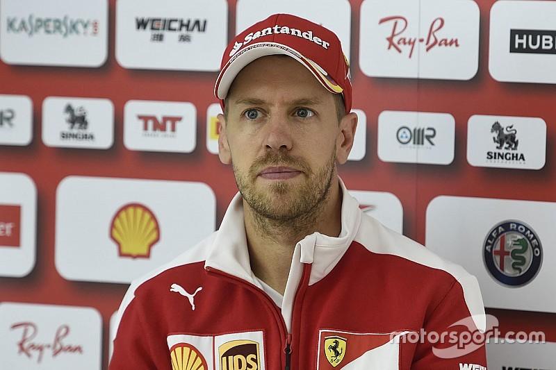 """Vettel blasts F1 radio rules as """"complete bullshit"""""""