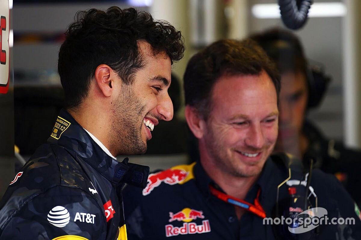Хорнер так и не понял, почему Риккардо ушел в Renault