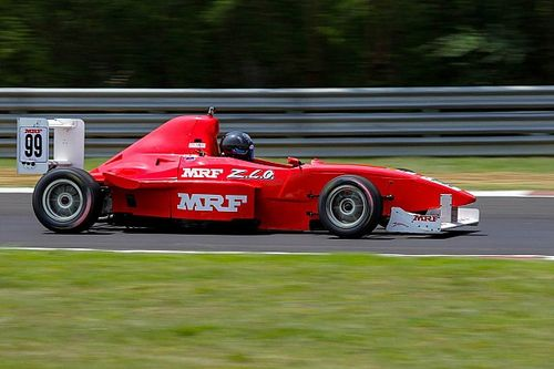 Rangasamy pleased to better MRF F1600 target with top three result