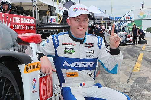 Shank rebounds from crash, scores Sebring pole