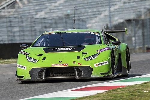 12h del Mugello: Lamborghini in pole, terzo posto per Kubica
