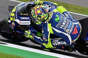 FP1 MotoGP Misano: Rossi tercepat, Marquez terjatuh