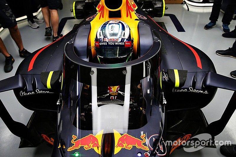 Red Bull vai testar nova proteção de cockpit em treino livre