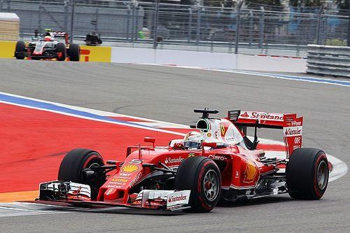 Vettel two places higher than Raikkonen in Sochi