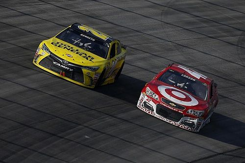 "Larson hopes strong run at Dover cures ""long faces"" at Ganassi"