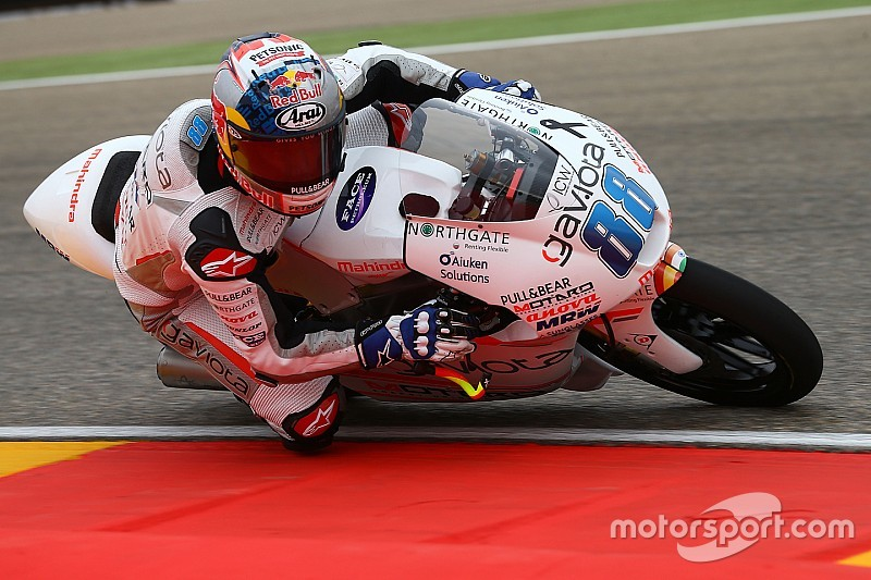 Martin says Aspar Mahindra can improve in race