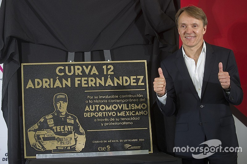 Adrian Fernandez has corner named after him in Mexico City