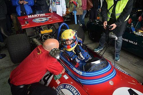 Minardi Day, Nanni Galli 45 anni dopo è tornato sulla Tecno PA123