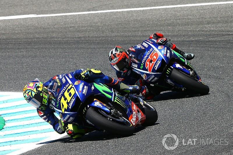 Мотоцикл Yamaha побудують для Россі без урахування думки Віньялеса