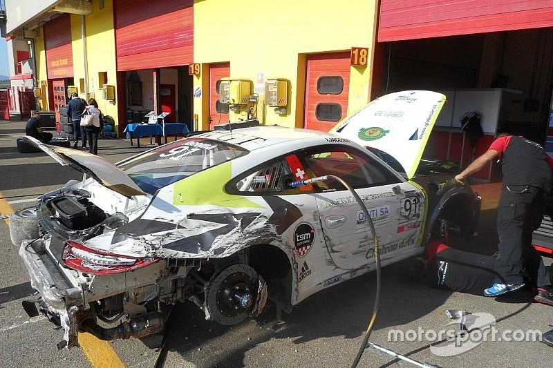 Carrera Cup Italia, Mugello: Jacoma e Pastorelli riparano, Cazzaniga out