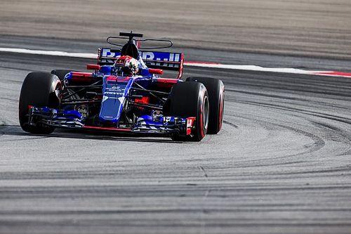 غاسلي عانى من آلام في ظهره خلال سباقه الأول في الفورمولا واحد