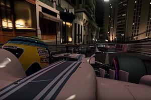 Virtual Breaking news Trailer terbaru F1 2017 tampilkan Monako saat malam
