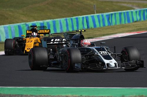 【F1】ヒュルケンベルグ「マグヌッセンは弟みたい」と暴言を受け流す