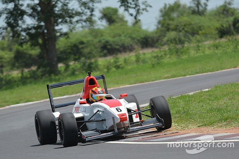 Chennai MRF F1600: Kumar fends off Reddy to win Race 2
