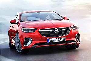 Automotive News Mehr markante Linien: Opel Insignia GSi wird sportlicher