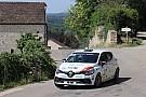 Schweizer markenpokale Erster Sieg für den neuen Leader in der Clio R3T Alps Trophy