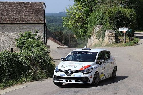 Première victoire pour le nouveau leader du Clio R3T Alps Trophy