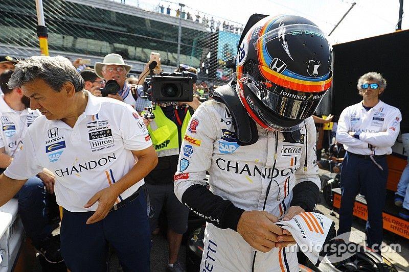Zak Brown confirma el test de Alonso con un Indycar
