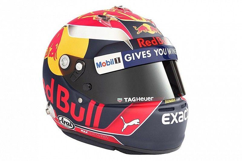 Max Verstappen presenta el casco que lucirá en 2017