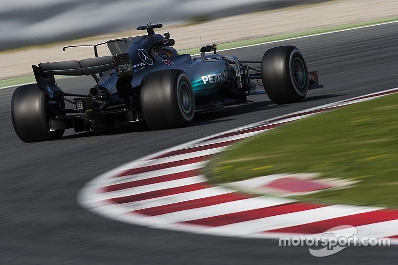 """Hamilton : """"La voiture la plus rapide que j'aie pilotée"""""""