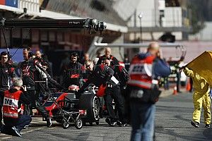 """Des """"petits problèmes"""" qui seront réglés pour mardi chez Haas F1"""