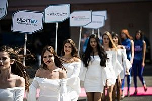 Formula E to continue to use grid girls after all