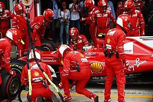 F1 Noticias de última hora Räikkönen no tiene explicación para la falla del neumático en su Ferrari