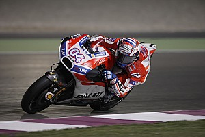 MotoGP Laporan tes Tes Qatar: Dovizioso dominasi hari pertama, Marquez terjatuh dua kali